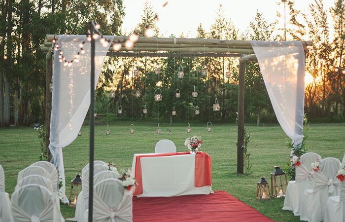 decoración de boda en finca clara | todofiestas
