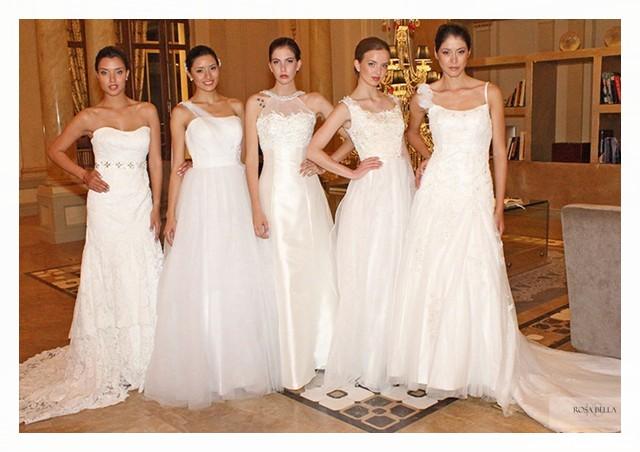 Rosa bella vestidos de novia